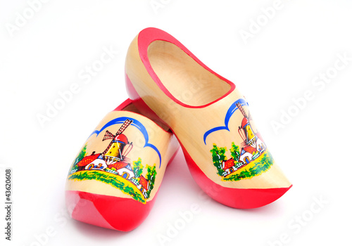 Fotografie, Obraz  Dutch Wooden Shoes