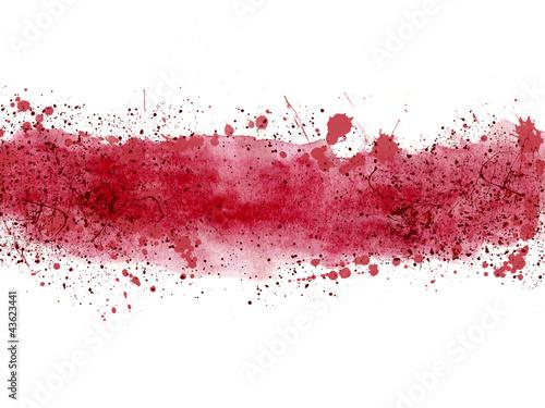 fototapeta na ścianę Fondo abstracto, ilustración, salpicadura, rojo