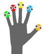 Color hand design