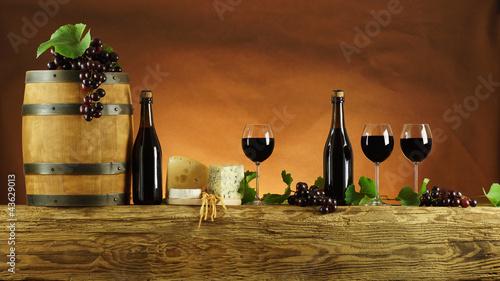 Obraz Belka wina - fototapety do salonu