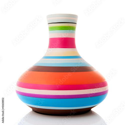 Fotografie, Obraz  Modern colorful vase