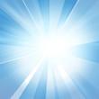 canvas print picture Intense sun