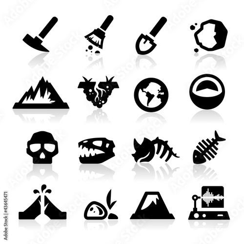 Fotografia Geology icon