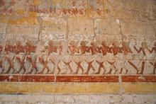 Egytian Bas Relief In Luxor.