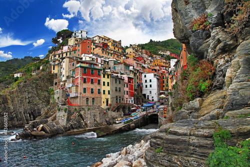 Foto-Kassettenrollo premium - picturesque Italy series - Riomagiorre, Chinque terre (von Freesurf)