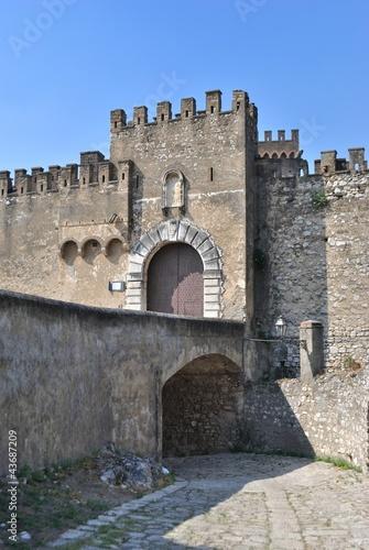 Castello Lancellotti - Lauro - Avellino - Campania - Italia Canvas Print