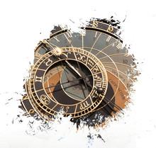 Old Astronomical Clock In Prag...