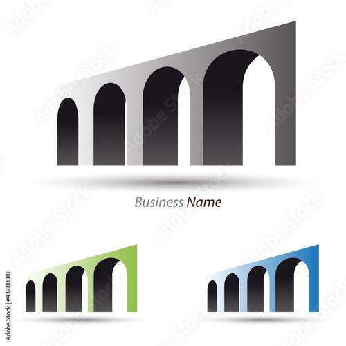 Canvastavla logo aqueduct