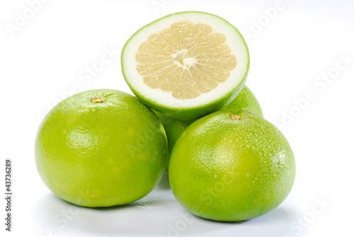 zielone grapefruity