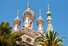Russian Church Detail, Sanremo...