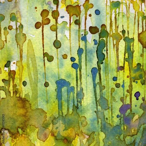 Recess Fitting Painterly Inspiration Artystyczne tło akwarelowe,