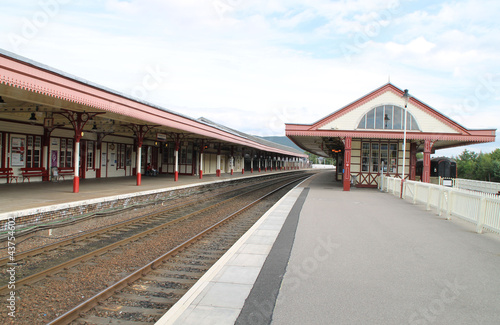 Photo Der Bahnhof in Aviemore