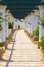 Kalithea Spa Center Building In Rhodes. Greece