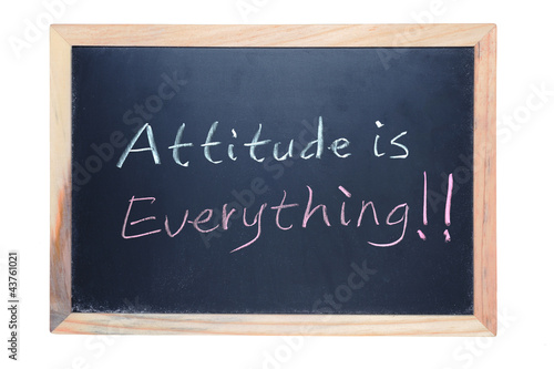 Fotografie, Tablou  Attitude is everything
