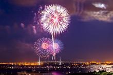 横浜港の花火大会