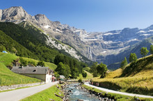 Mountain River In The French Pyrenees