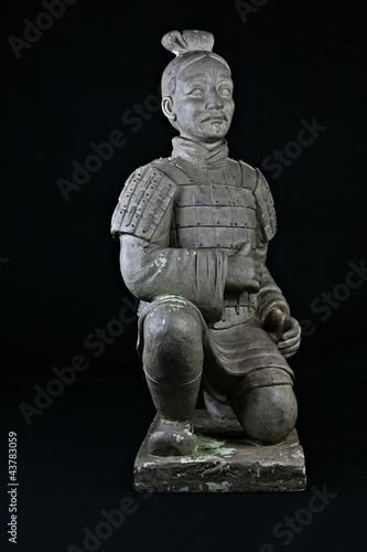 Staande foto Xian Chinesischer Krieger