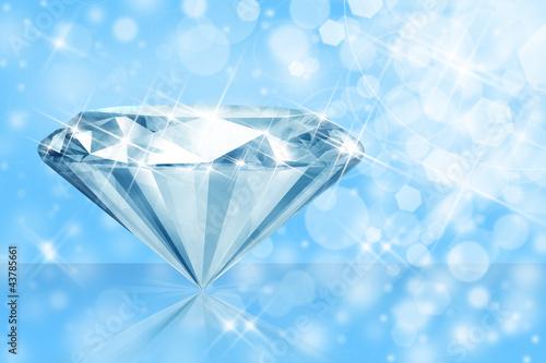 Doppelrollo mit Motiv - Diamant 18 (von K.-U. Häßler)