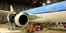 Maintenance On A Jet Plane