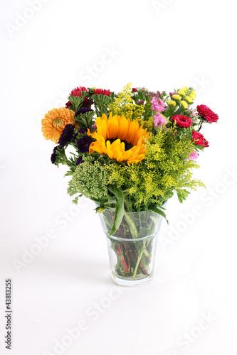 Foto op Canvas Madeliefjes Blumenstrauß