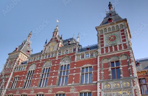 In de dag Brugge gare d'amsterdam