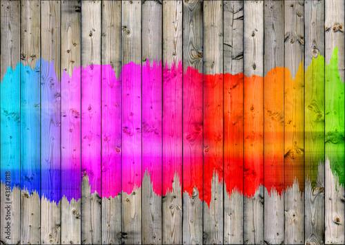 Colour Fence bright