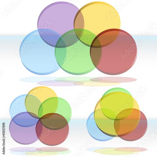 3d Venn Diagram Set Buy This Stock Vector And Explore Similar