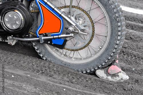 Canvastavla Speedway Bahnsport