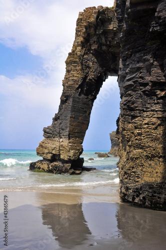 Playa de las Catedrales, Galicia (España)