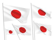 Japan Vector Flags