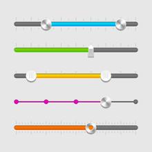 UI Sliders Set