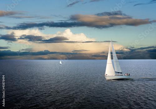 Fotografia  Sail boat