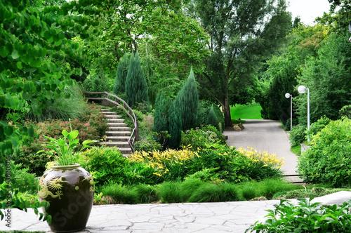 Slika na platnu delightful park