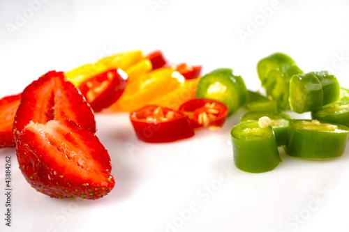 warzywa i owoce kolorowe