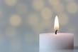 canvas print picture - Kerzenlicht