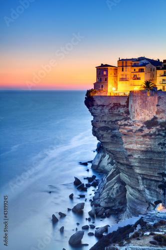 Obraz Bonifacio - Korsyka Południowa - fototapety do salonu