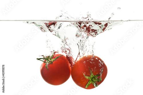 Recess Fitting Splashing water Tomato Splash