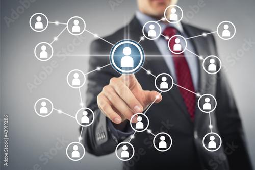 Fotografía Social Network Interface
