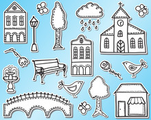 Town Or City Design Elements