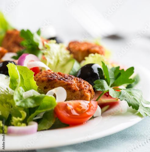Fotografie, Obraz  Chicken Salad