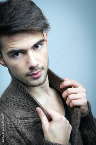 Plakat na zamówienie fashion man