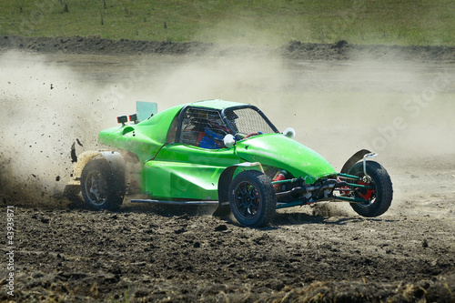 Staande foto Snelle auto s Sports car racing