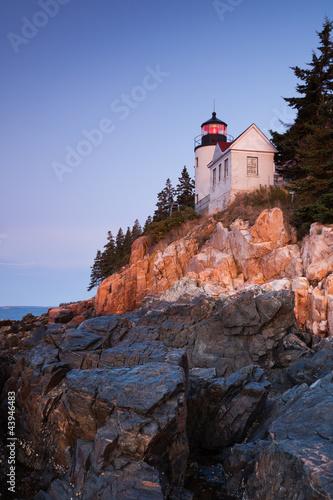 Photo Stands United States Bass Harbor Lighthouse, Acadia National Park, Maine, USA