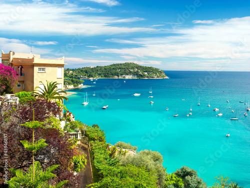 Recess Fitting Nice beautiful mediterranean landscape, french riviera