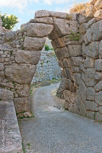 Arco a sesto acuto- Civitavecchia l'Acropoli di Arpino Canvas Print