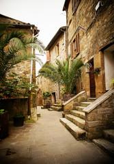 Fototapeta cute italian street