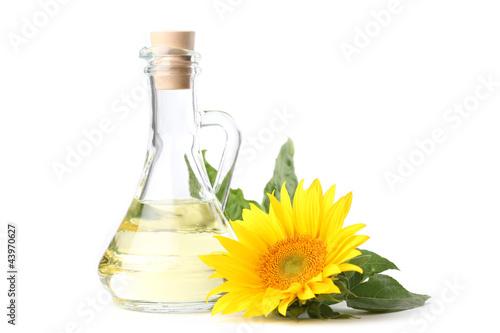 Fototapeta Sunflower oil obraz