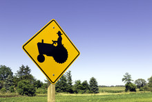 Farm Tractor Sign