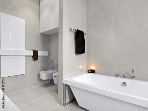 Vasche Da Bagno Moderne : Bagno moderno con vasca da bagno buy this stock photo and explore
