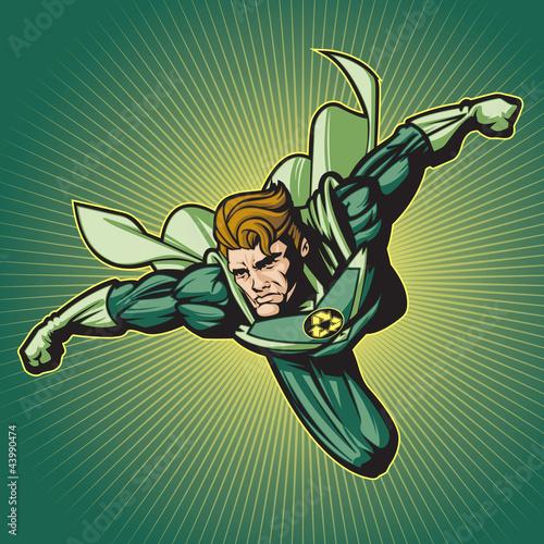 Fotografía  Recycle Hero (with a cape)